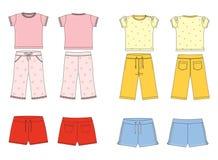 Kleidung für Kinder Lizenzfreies Stockbild