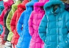 Kleidung im Winter Stockbilder