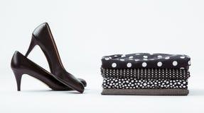 Kleidung und Schuhe Lizenzfreie Stockbilder