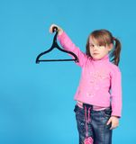 Kleidungaufhängung Stockfotografie