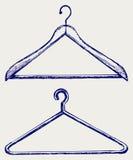 Kleidungaufhängungen Stockbilder