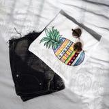 Kleidungs-Frucht färbt Sommer Stockbild