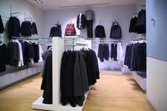 Kleidungsabteilung lizenzfreie stockfotografie