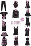 Kleidungschattenbilder 2 Stockfoto