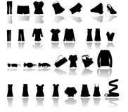 Kleidungvektor Lizenzfreies Stockfoto