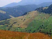 Kleie - Moeciu Rumänien Lizenzfreie Stockbilder