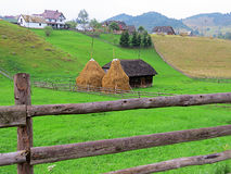 Kleie - Moeciu Rumänien Lizenzfreies Stockbild