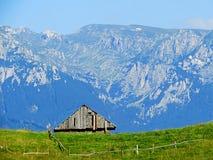 Kleie - Moeciu Rumänien Stockbilder