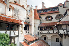 Kleie-Schloss; Brasov, Rumänien Lizenzfreies Stockbild