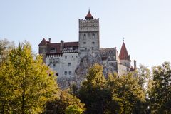 Kleie-Schloss in Rumänien Stockfotografie