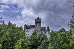 Kleie-Schloss in Rumänien Lizenzfreies Stockbild