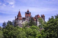 Kleie-Schloss in Rumänien Lizenzfreie Stockfotos