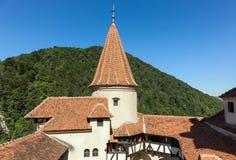 Kleie-Schloss - Schloss Draculas s Stockfotos