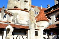 Kleieschloss, Haus von Dracula, Brasov, Siebenbürgen Lizenzfreie Stockfotografie
