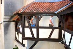 Kleieschloss, Haus von Dracula, Brasov, Siebenbürgen Stockbild
