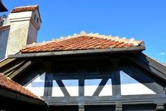 Kleieschloss, Haus von Dracula, Brasov, Siebenbürgen Stockfotografie