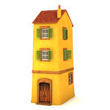 Klein 3D huis Royalty-vrije Stock Foto's