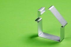Klein abstract model van huis Royalty-vrije Stock Afbeelding
