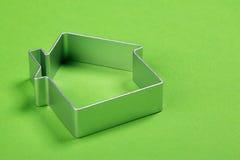 Klein abstract model van huis Stock Afbeelding