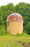 Klein Astronomisch Pulkovo-waarnemingscentrum in St. Petersburg stock foto's