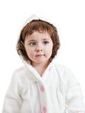 Klein babymeisje royalty-vrije stock afbeelding