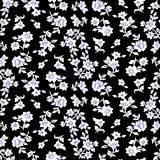 Klein bloemenpatroon 014 stock illustratie