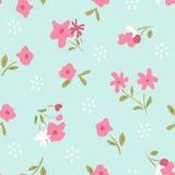 Klein bloempatroon Stock Foto