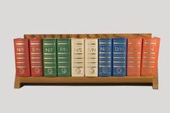 Klein boekenrek Royalty-vrije Stock Afbeeldingen