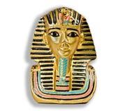 Klein decoratief Egyptisch standbeeld Royalty-vrije Stock Foto's