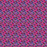 Klein ditsy patroon met abstracte vormen Stock Fotografie