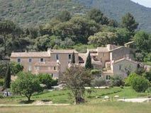 Klein dorp van de Provence - Frankrijk stock afbeeldingen