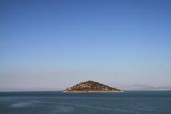 Klein eiland Stock Afbeelding