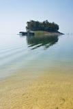 Klein eiland in Thailand Stock Afbeeldingen