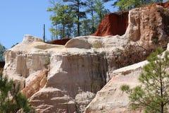 Klein Grand Canyon in Georgië stock foto