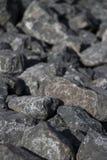 Klein Grey Rocks Royalty-vrije Stock Foto