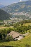 Klein-Heiliges-Bernard (Frankreich) Stockbilder