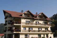 Klein hotel Stock Afbeelding