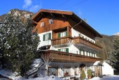 Klein hotel in Kampitello Royalty-vrije Stock Foto