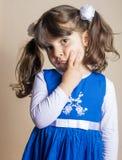 Klein Iraaks meisje stock afbeelding