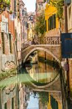 Klein kanaal in Venetië Royalty-vrije Stock Fotografie