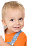 Klein kind Stock Afbeelding