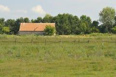 Klein landbouwbedrijf Royalty-vrije Stock Foto's