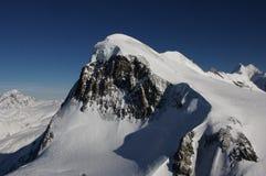 Klein-Matterhorn. Mountain peak of Klein-Matterhorn in Switzerland stock image