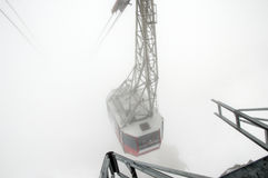 Klein Matterhorn cable car Stock Image