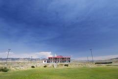 Klein motel stock afbeelding