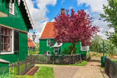 Klein Nederlands dorp royalty-vrije stock fotografie