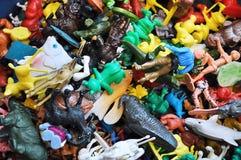 Klein retro plastic speelgoed Royalty-vrije Stock Afbeelding