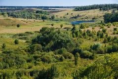 Klein rivieralluviaal gebied Stock Afbeelding