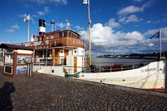 Klein schip Royalty-vrije Stock Afbeelding