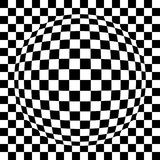 Spherized geregeld patroon Stock Fotografie